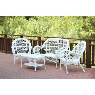Santa Maria Wicker 4-piece Conversation Set