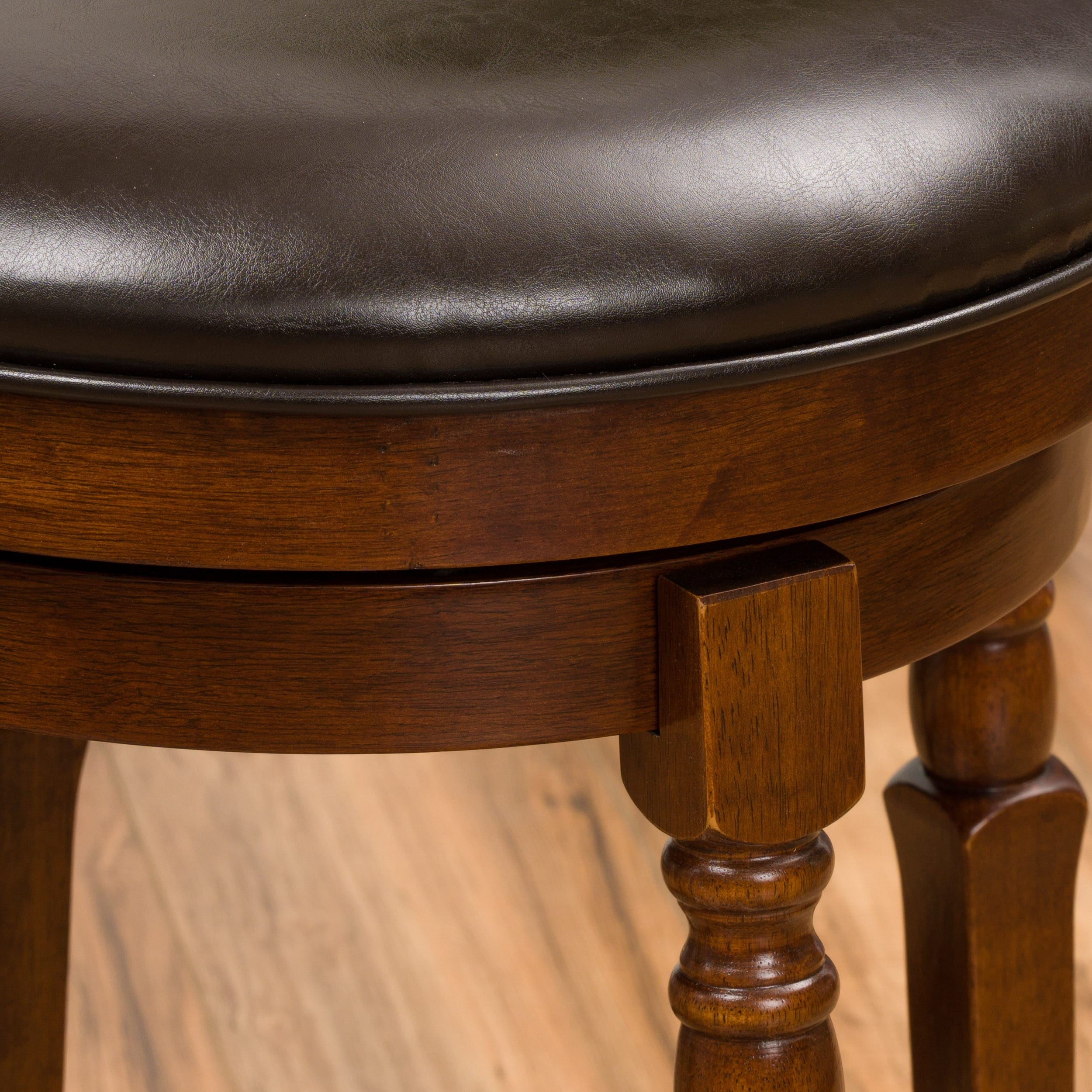 Awesome Details About Paxx Bonded 26 Inch Leather Swivel Counter Stool Set Of 2 By Christopher Inzonedesignstudio Interior Chair Design Inzonedesignstudiocom