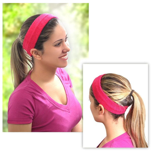 2c41e665563 Zodaca Women Fashion Yoga Sports Elastic Cotton Hair Band Headband in  Assorted Colors