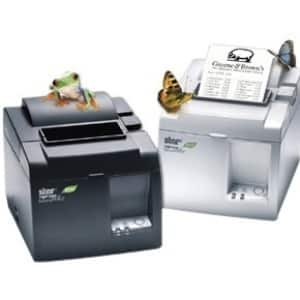 Star Micronics TSP143IIIW GRY US Direct Thermal Printer - Monochrome - Desktop - Receipt Print