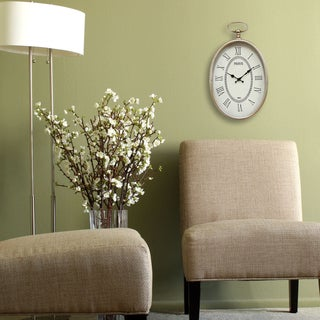 Stratton Home Decor Elegant Wall Clock
