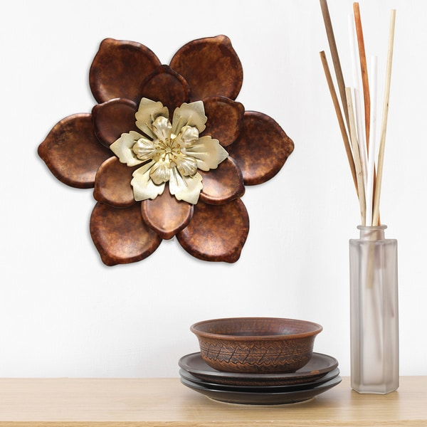 Stratton Home Decor Whimsical Flower Wall Decor - Free Shipping On ...