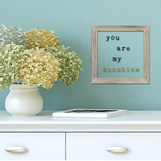 Stratton Home Decor You Are My Sunshine Framed Art