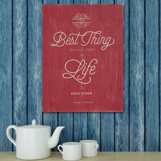 Stratton Home Decor Best Thing in Life Box Art
