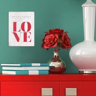Stratton Home Decor Love Box Art
