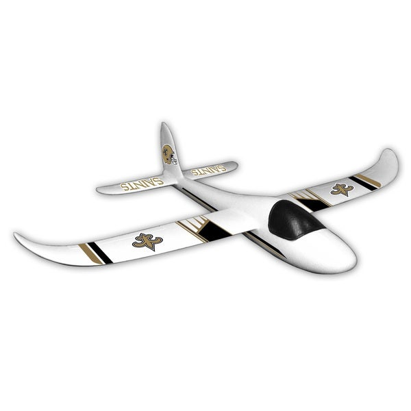 NFL New Orleans Saints Sky Glider Foam Airplane