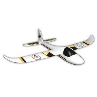 NFL Pittsburgh Steelers Sky Glider Foam Airplane