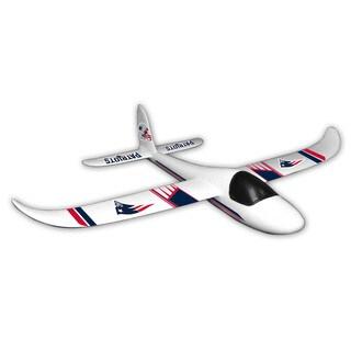 NFL New England Patriots Sky Glider Foam Airplane