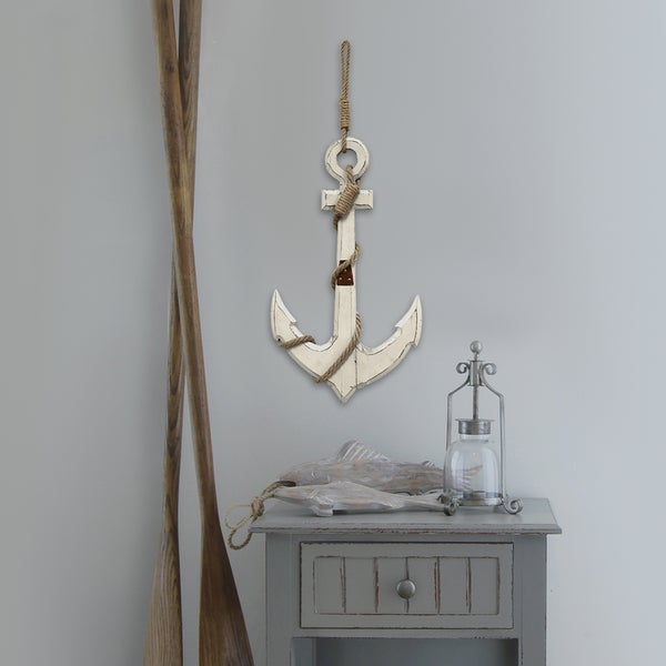 Stratton Home Decor Nautical Anchor Wall