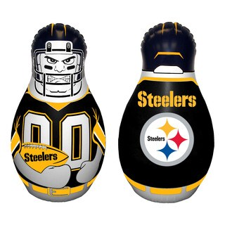 NFL Pittsburg Steelers Tackle Buddy Inflatable Punching Bag