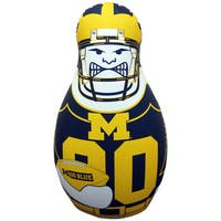 NCAA Michigan Wolverines Tackle Buddy Inflatable Punching Bag