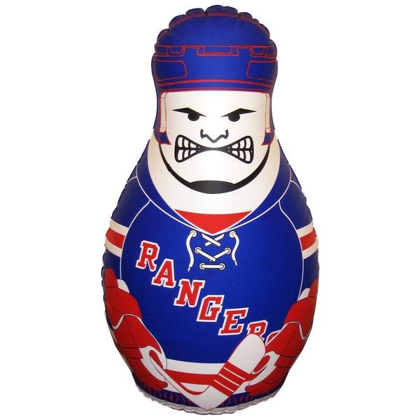 NHL New York Rangers Checking Buddy Inflatable Punching Bag