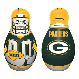 NFL Green Bay Packers Tackle Buddy Inflatable Punching Bag