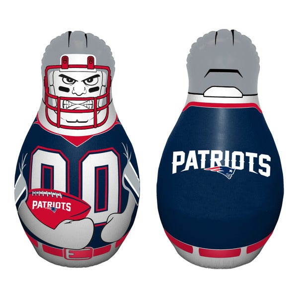 NFL New England Patriots Tackle Buddy Inflatable Punching Bag
