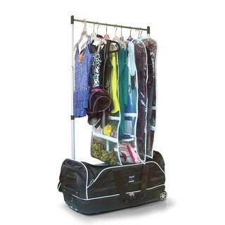Travolution 28-inch Wheeled Drop-bottom Duffel with Garment Rack