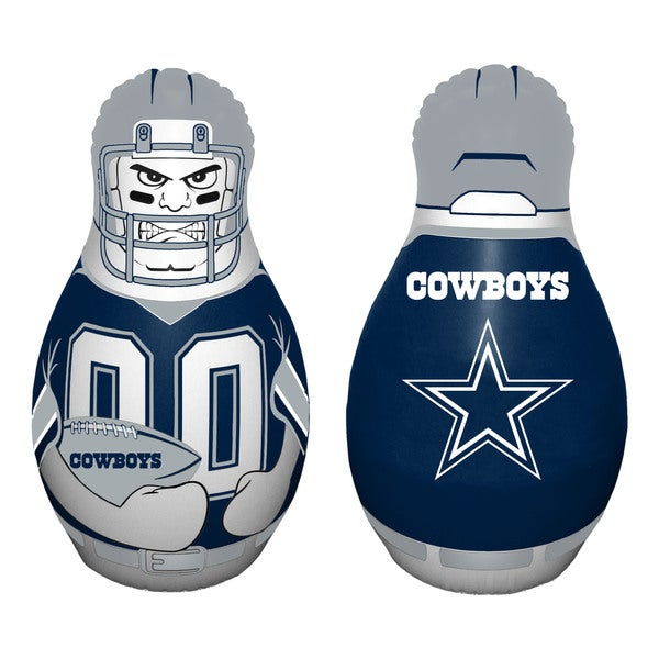 66caf316afe Shop NFL Dallas Cowboys Tackle Buddy Inflatable Punching Bag - Blue - N/A -  Free Shipping On Orders Over $45 - Overstock - 11210660