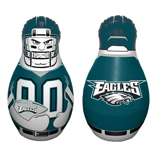 NFL Philadelphia Eagles Tackle Buddy Inflatable Punching Bag