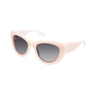 Cynthia Rowley Eyewear CR5030S Miss Z Blush Cat-Eye Plastic Sunglasses