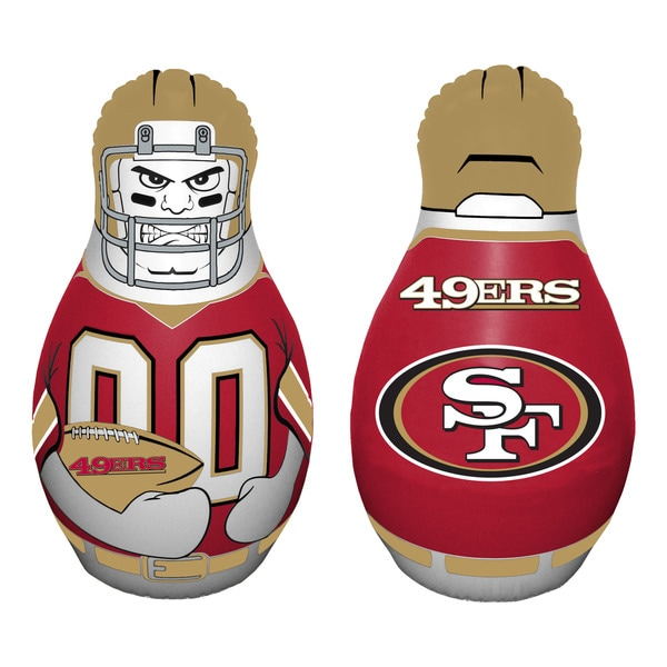 NFL San Fransisco 49ers Tackle Buddy Inflatable Punching Bag