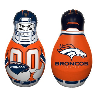 NFL Denver Broncos Tackle Buddy Inflatable Punching Bag