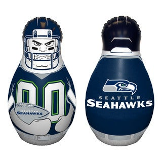 NFL Seattle Seahawks Tackle Buddy Inflatable Punching Bag