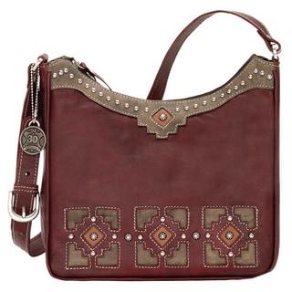 American West Annies Secret Concealed Carry Crimson Shoulder Bag