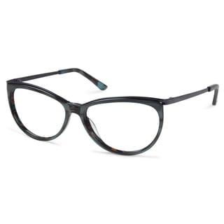 Cynthia Rowley Eyewear CR5018 No. 18 Pearlized Blue Round Metal Eyeglasses