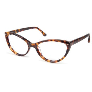 Cynthia Rowley Eyewear CR5000 No. 50 Honey Tortoise Cat-Eye Plastic Eyeglasses