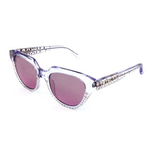 Cynthia Rowley Eyewear CR5012S No. 29 LTD Clear Cat-Eye Rhinestones Sunglasses