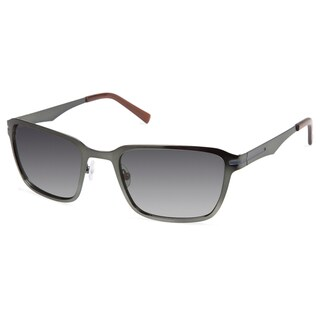 Cynthia Rowley Eyewear CR 6020S No. 37 Matte Hunter Rectangle Metal Sunglasses