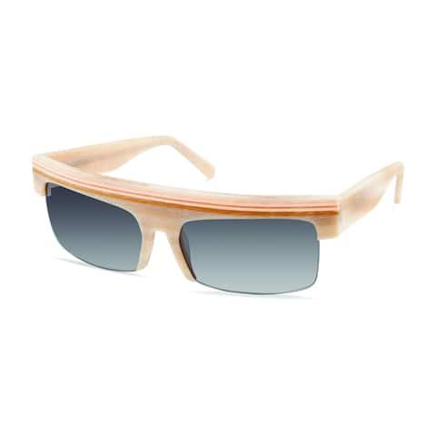 Cynthia Rowley Eyewear CR 5025 S 22 No. 40 LTD Rectangle Plastic Sunglasses