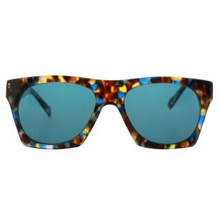 Cynthia Rowley Eyewear CR5026 S No.32 Blue Tortoise Fashion Plastic Sunglasses