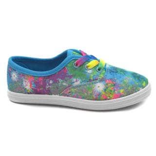 Blue Girl's K Riley Multicolor Sneakers