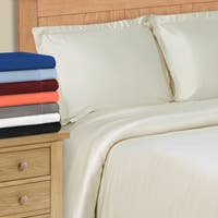 Superior 300 Thread Count Modal Wrinkle Resistant Solid Duvet Cover Set