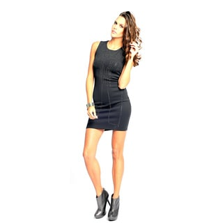 Sara Boo Women's Micro Stud Little Black Dress
