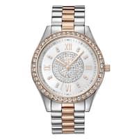 JBW Mondrian Two-tone Goldplated Women's Diamond Watch