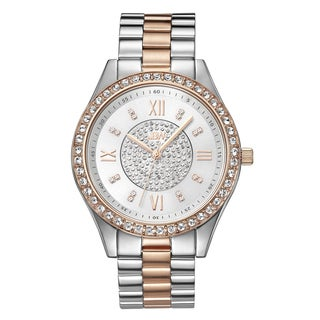 JBW Mondrian Two-tone Goldplated Women's Diamond Watch