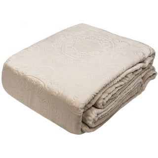 Hot Press Patented Italian Tile Velvet Plush Blankets