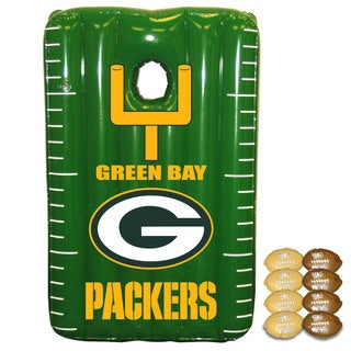 NFL Green Bay Packers Team Toss Inflatable Bean Bag Game