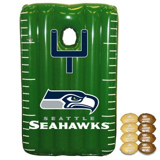 NFL Seattle Seahawks Team Toss Inflatable Bean Bag Game