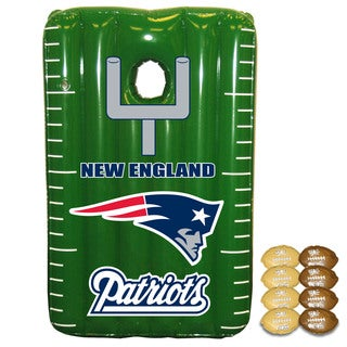 NFL New England Patriots Team Toss Inflatable Bean Bag Game