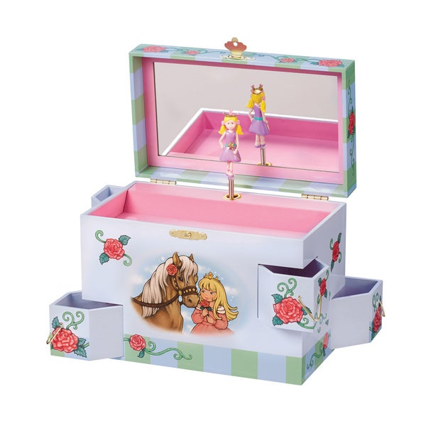 Enchantmints Rose Petal Princess Music and Treasure Box
