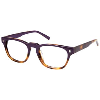 Cynthia Rowley Eyewear CR 5029 No.49 Purple Tortoise Square Plastic Eyeglasses