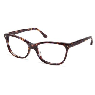 Cynthia Rowley Eyewear CR5001 No. 88 Purple Tortoise Square Plastic Eyeglasses