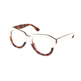 Cynthia Rowley Eyewear CR5028 No. 81 Cream/Tortoise Fashion Plastic Eyeglasses
