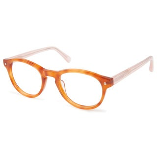 Cynthia Rowley Eyewear CR5009 No. 39 Honey Tortoise Round Plastic Eyeglasses