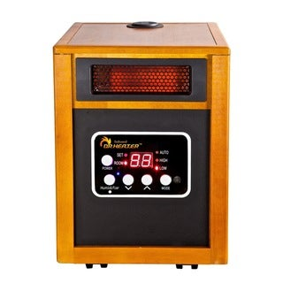 Dr. Infrared Heater DR-968H Portable Space Heater with Humidifier
