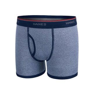 Hanes Boy's Sport Style Comfort Flex Waistband Ringer Boxer Brief (Pack of 5)