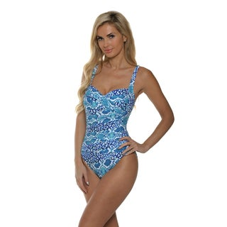 La Blanca Women's Island Goddess Sweetheart Mio One Piece