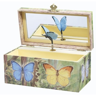 Enchantmints Butterfly Music and Treasure Box